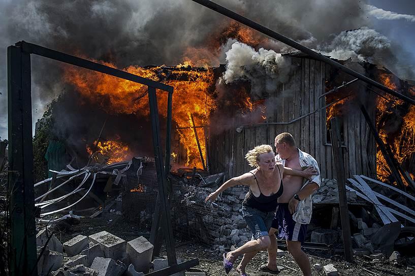 """""""Чёрные дни Украины"""". Валерий Мельников/Sony World Photography Awards - 2015"""