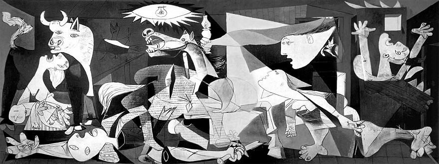 «Герника». Пабло Пикассо (Безумные гении)