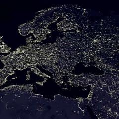 Ночная Земля: съёмки из Космоса