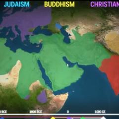 «Благочестивый глобус»: распространение мировых религий по Земле