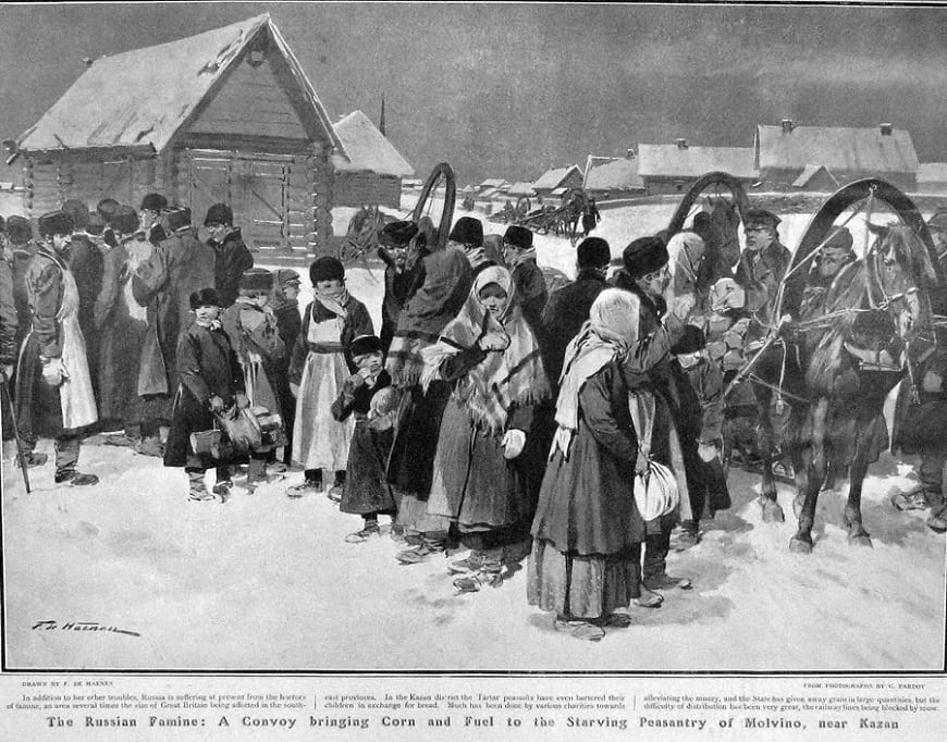 Россия как цивилизация выживания: голодающие крестьяне