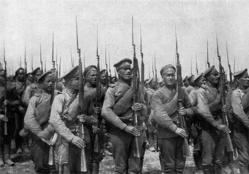 Россия накануне 1917 года: Первая мировая война