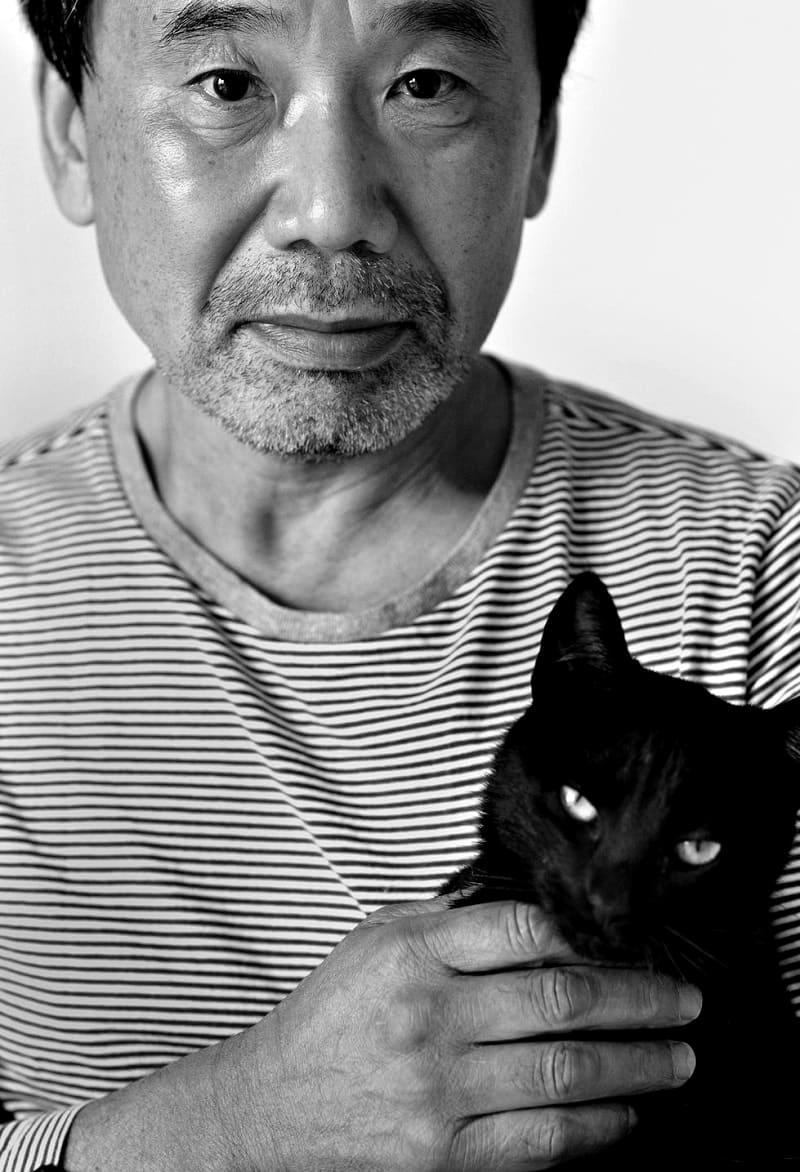 Харуки Мураками с котом