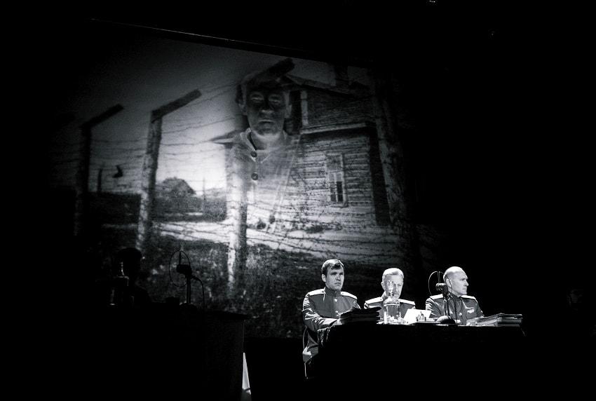 """""""Да судимы будете"""": сценическая реконструкция открытого суда над нацистскими преступниками"""