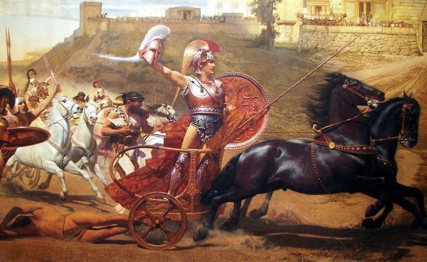 Фрагмент картины Франца Матча «Триумф Ахилла» / © Wikimedia Commons