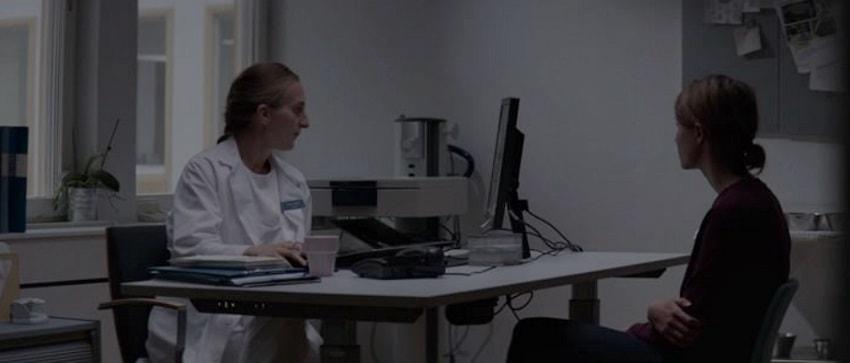 Тельма у врача
