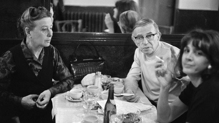 Жан Поль Сартр и Симона де Бовуар