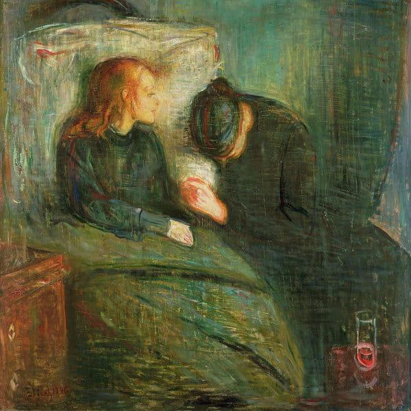 Эдвард Мунк, «Больная девочка»