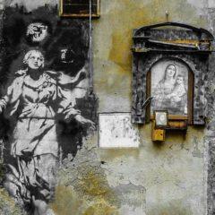 Замаливать или замалевать? Бэнкси бросает вызов Италии
