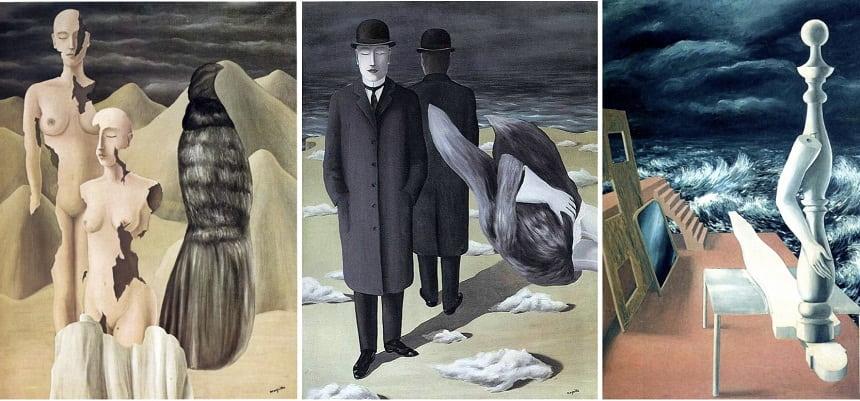 «Северное сияние» (1926), «Смысл ночи» (1927), «Рождение идола» (1926).