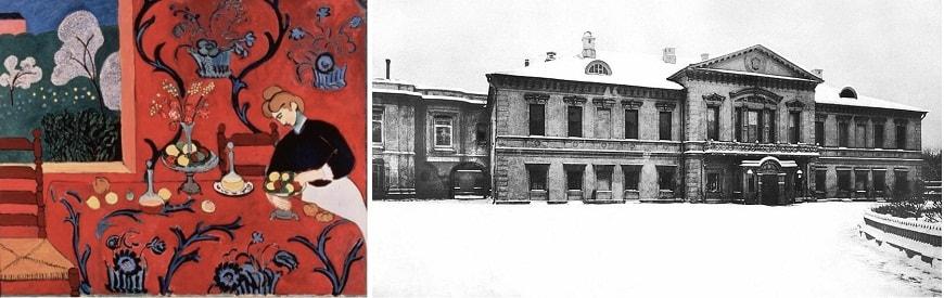 1. «Красная комната» или «Гармония в красном» (1906-1909).