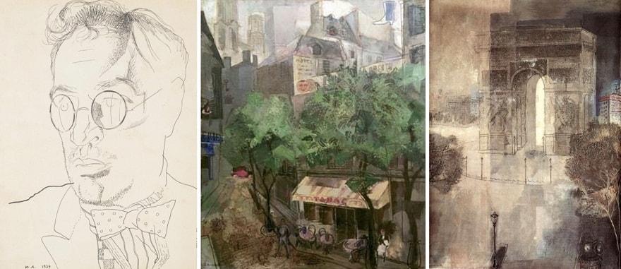 Борис Пильняк (1924), «Латинский квартал в Париже» (1925), «Триумфальная арка» (1927).