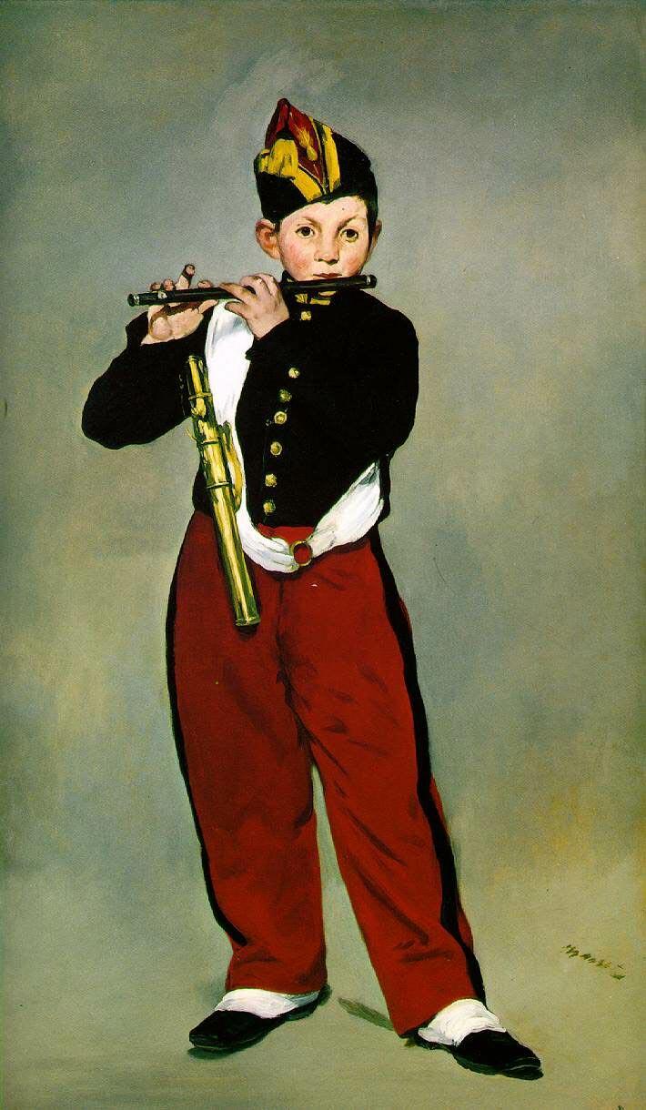 """""""Флейтист"""", Мане"""